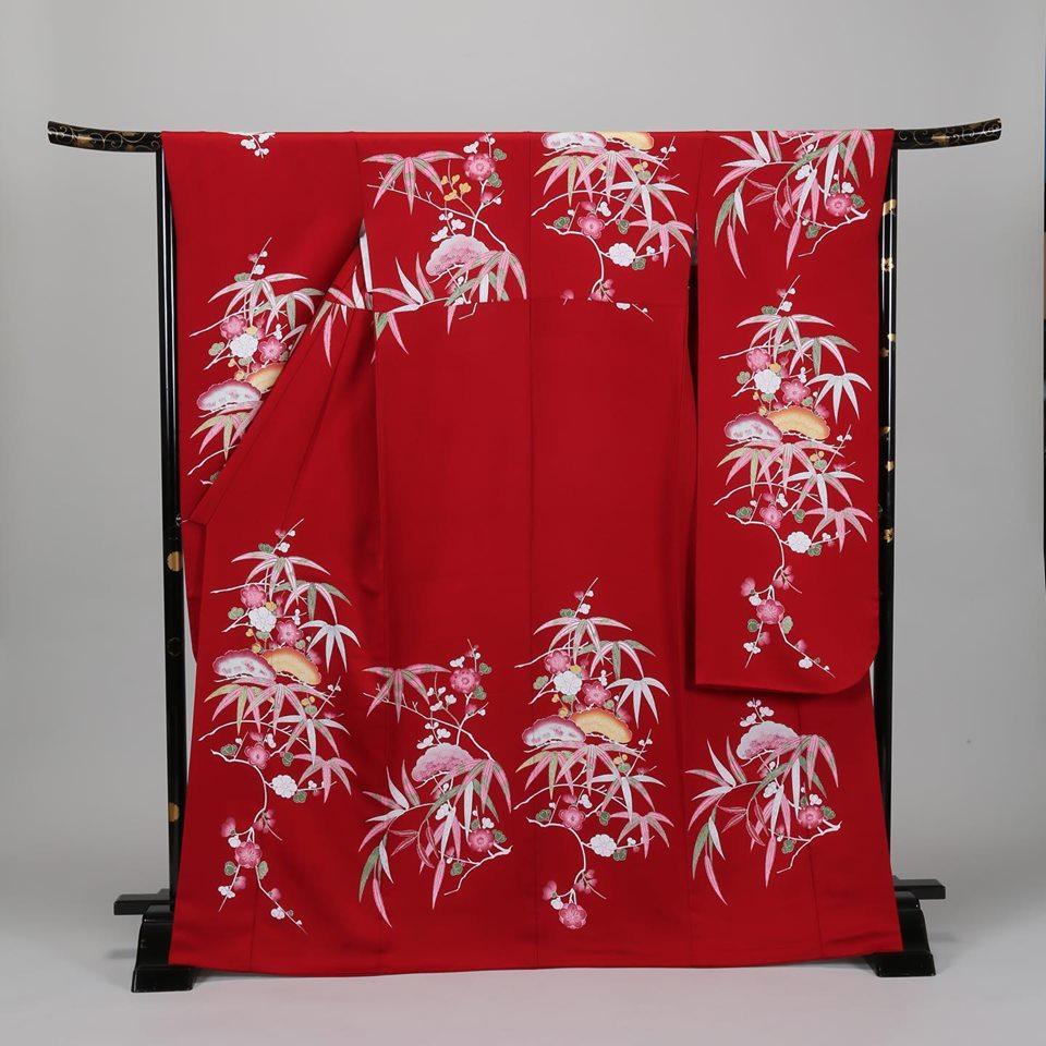 資生堂 kimono dream 多ち花 摺型友禅